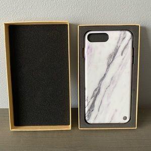Akna White/Purple Marble Phone Case iPhone 7+/8+